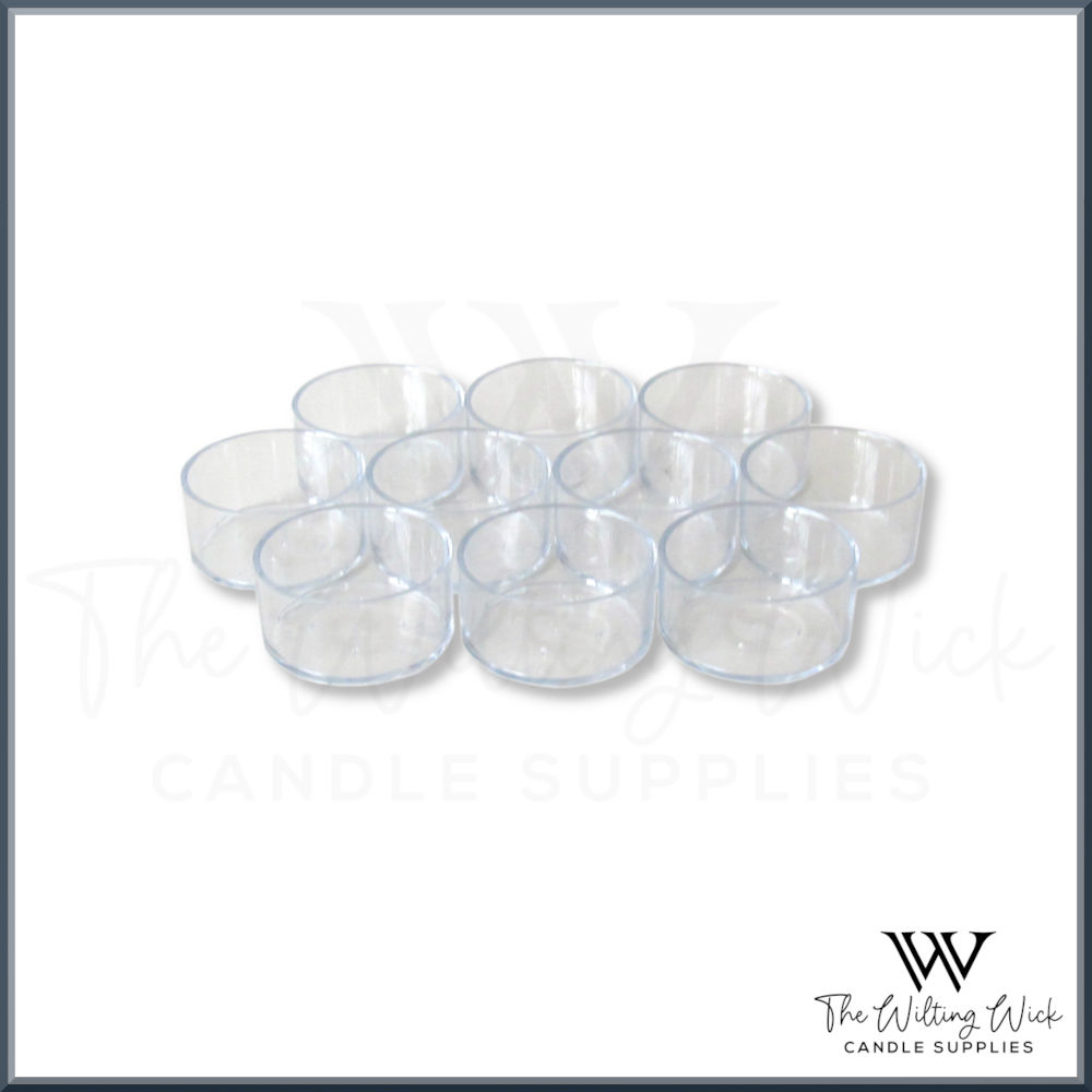 Clear Tealight Cups