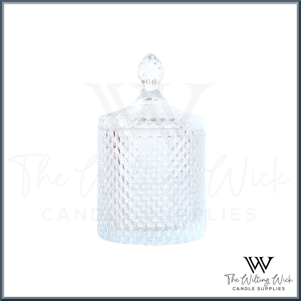 Clear Teardrop Jar