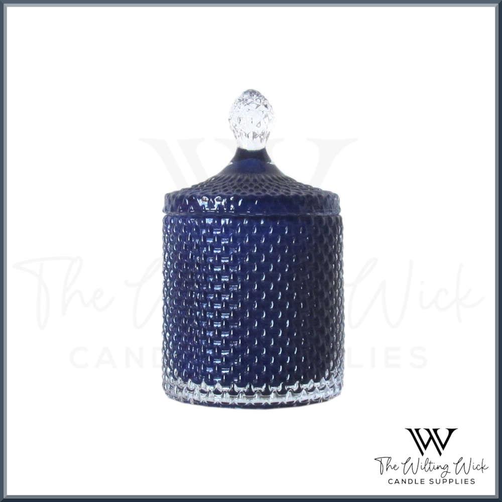 Lapis Lazuli Blue Teardrop Jar
