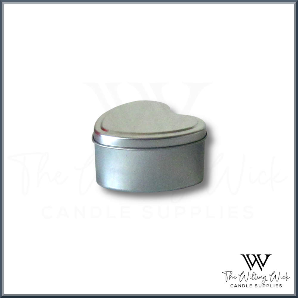 Silver Heart Travel Tin